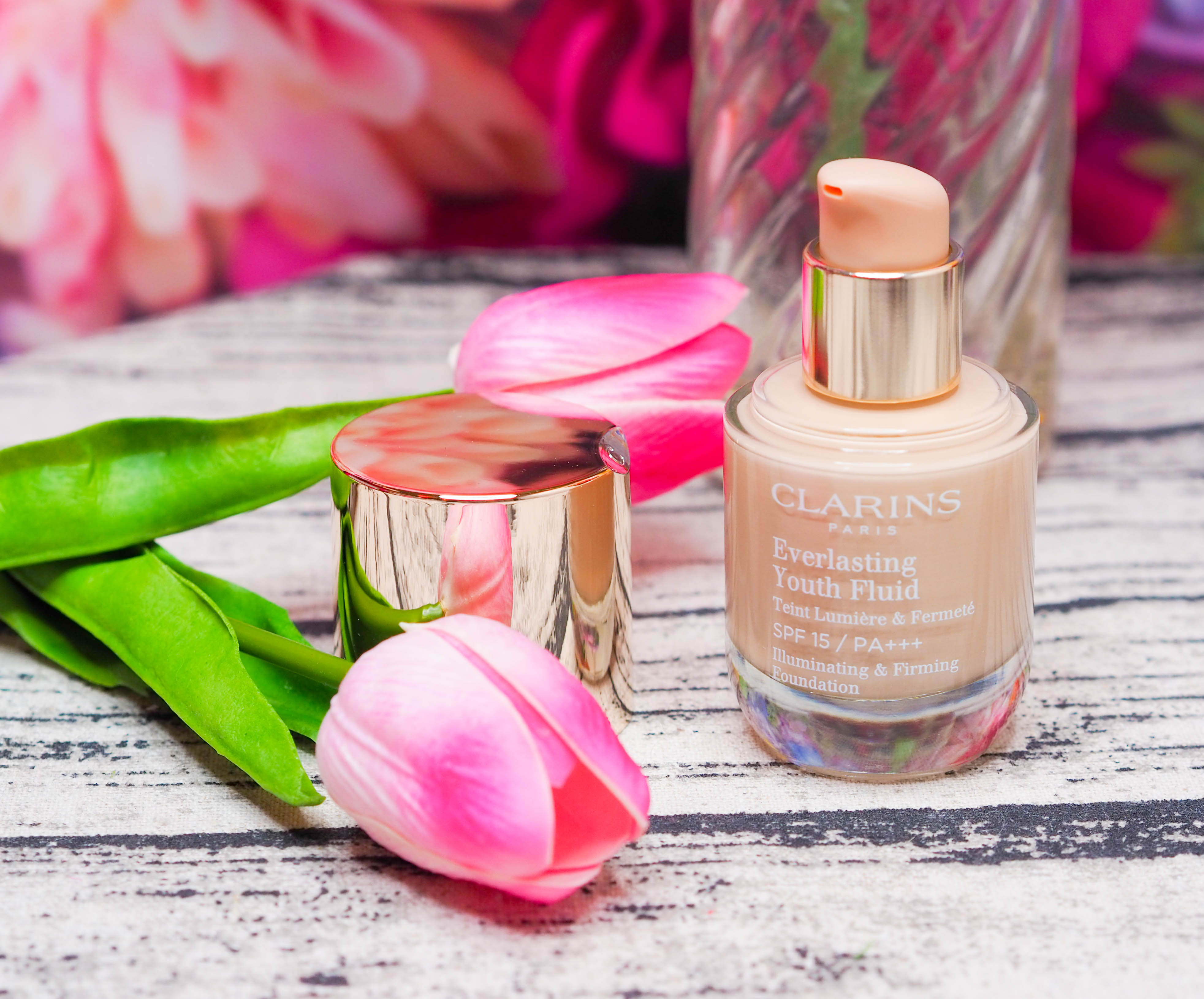 Clarins Everlasting Youth Fluid Foundation Review