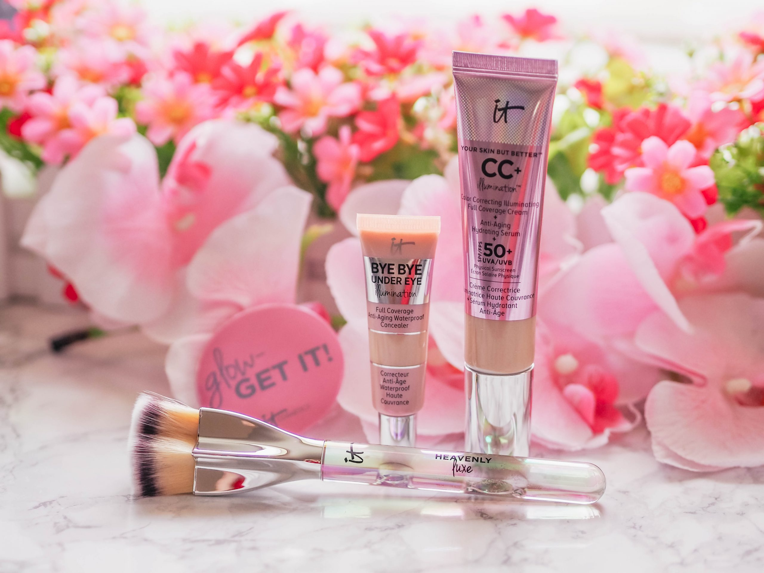 QVC UK TSV IT Cosmetics 3 Piece Superstar Glow Collection