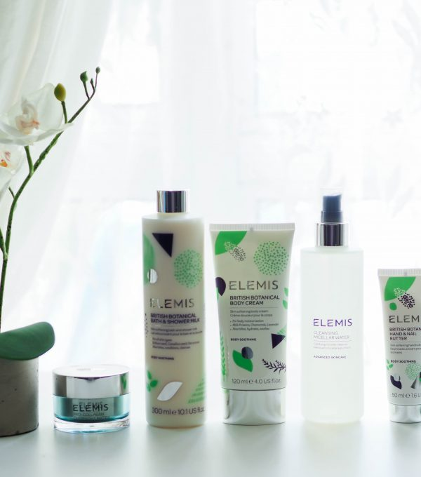 QVC UK TSV Elemis 6-Piece Pro-Collagen & British Botanical Skin Firming Collection