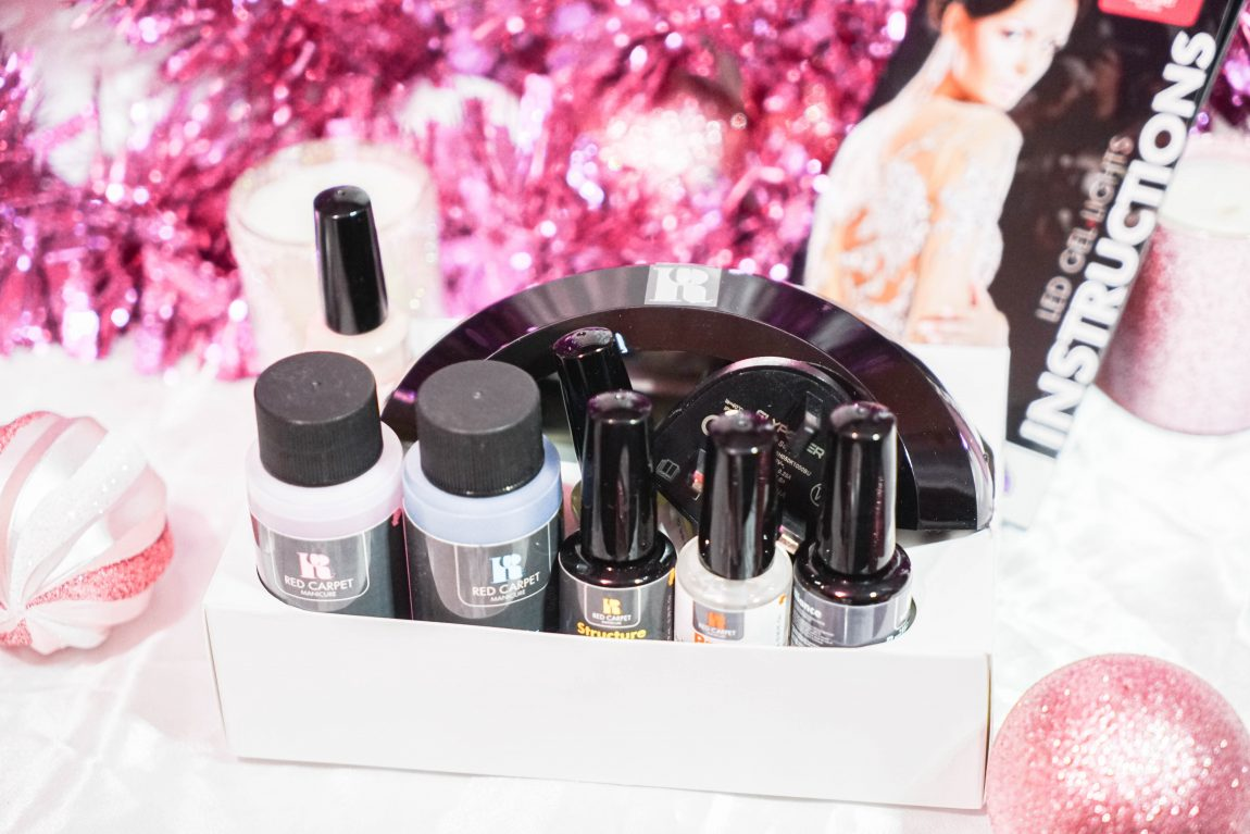Red Carpet Manicure Starter Kit with Pro LED Light