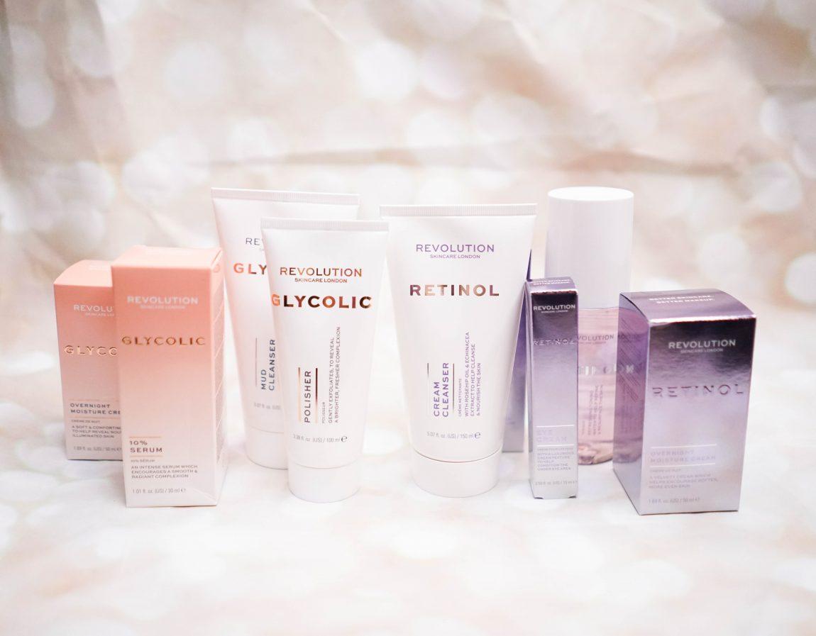 Skincare Newness from Revolution Skincare (Glycolic Acid and Retinol Ranges)