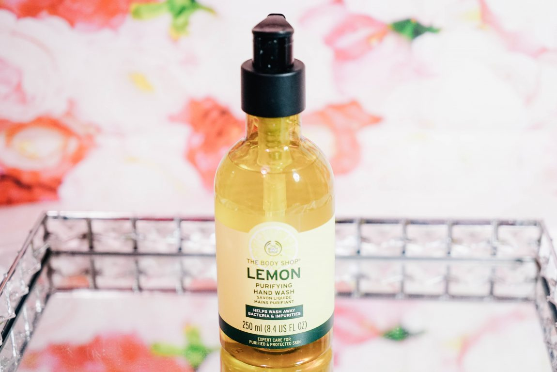 The Body Shop Lemon Collection