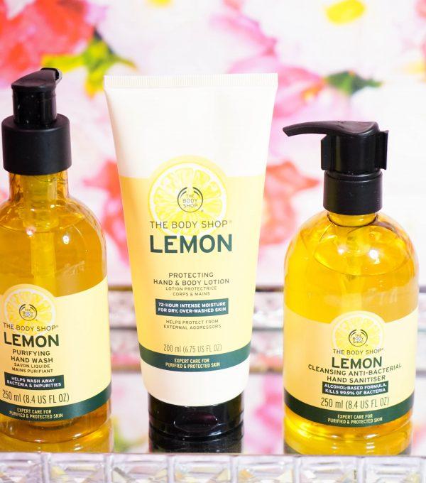 The Body Shop Lemon Range