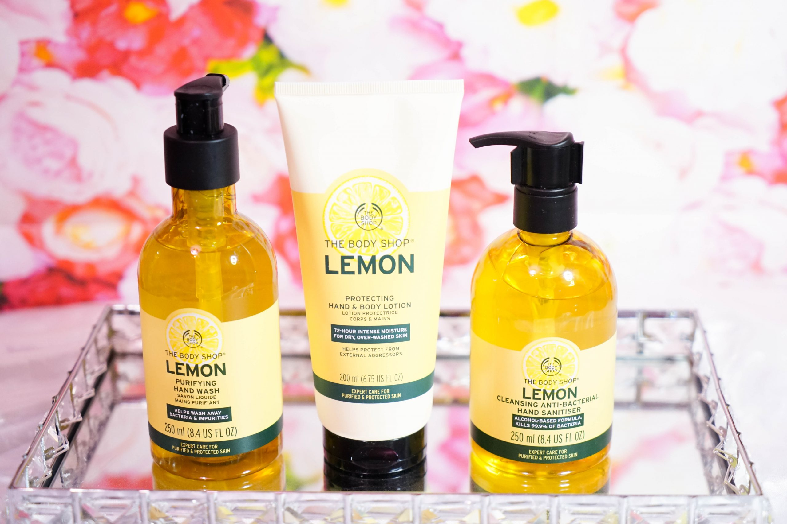 The Body Shop Lemon Range