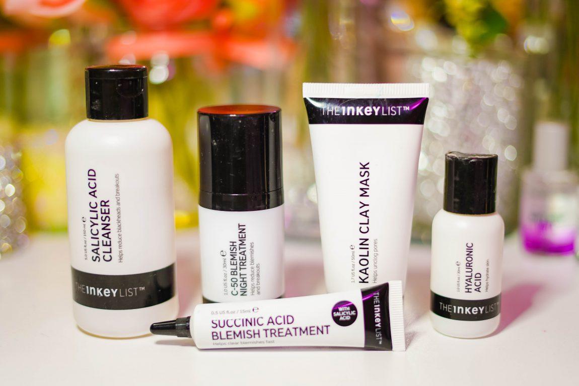 The Inkey List Acne Skincare